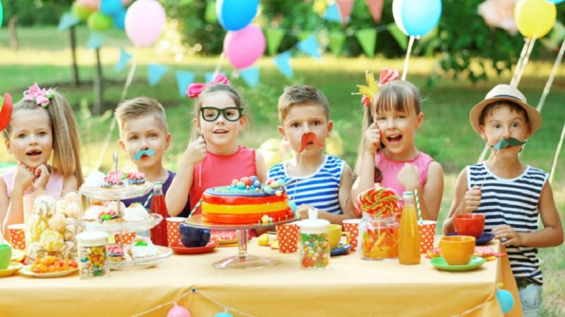 Good ideas for birthday parties from 4 to 7 years