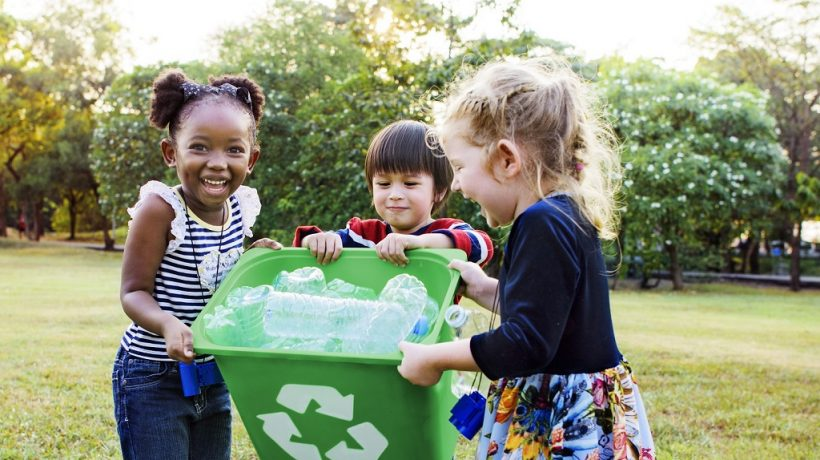 Three fun recycling activities for kids